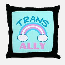 Transgender Ally Throw Pillow