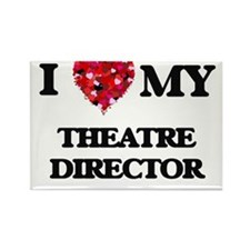 I love my Theatre Director hearts design Magnets