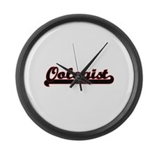 Oologist Classic Job Design Large Wall Clock