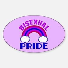 Bisexual Pride Sticker (Oval)