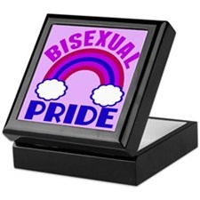 Bisexual Pride Keepsake Box