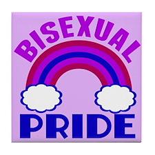 Bisexual Pride Tile Coaster