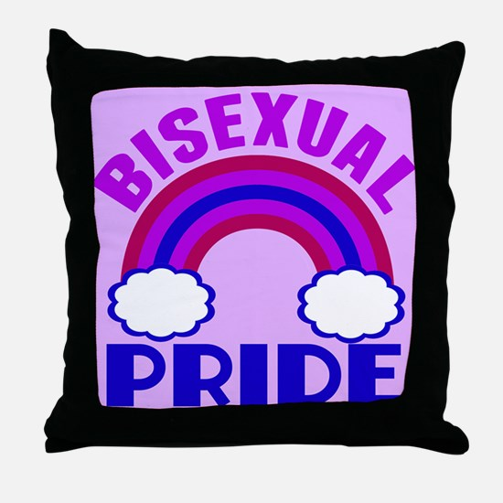 Bisexual Pride Throw Pillow