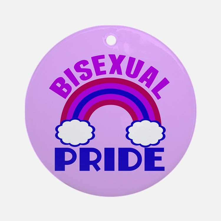 Bisexual Pride Ornament (Round)