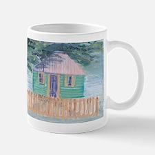 Green Tropical Home Mug