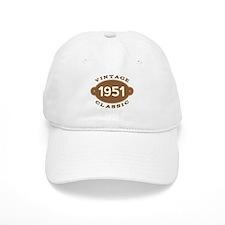 1951 Birth Year Birthday Baseball Cap
