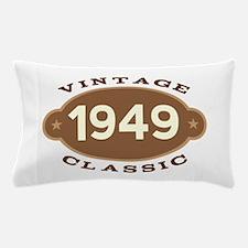 1949 Birth Year Birthday Pillow Case