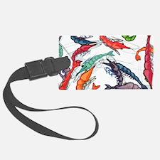 shrimp party Luggage Tag