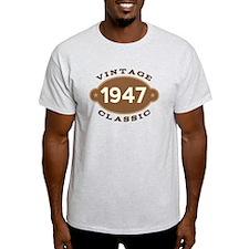 1947 Birth Year Birthday T-Shirt