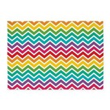 Rainbow chevron Bedroom Décor
