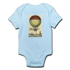 Vintage Hot Air Balloon Body Suit