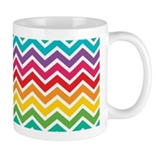 Rainbow Abstract - Chevron Mug