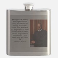 Clarence Thomas quote Flask