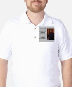 Clarence Thomas quote Golf Shirt