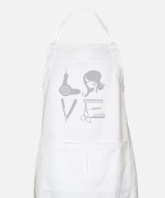love and hair Apron