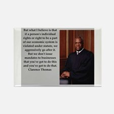 Clarence Thomas quote Magnets