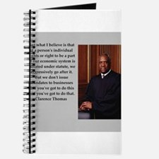 Clarence Thomas quote Journal