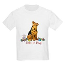 Time to Play Airedale! T-Shirt