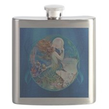 Clive Sensual Pearl Mermaid Flask