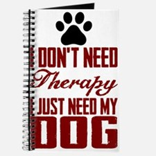 Don't need therapy/DOG Journal