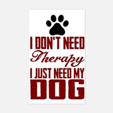 Don't need therapy/DOG Decal