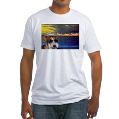 CARDI-PARTY! Fitted T-Shirt