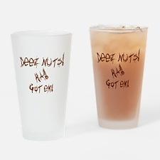 Deez Nuts!!! Drinking Glass
