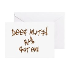 Deez Nuts!!! Greeting Card