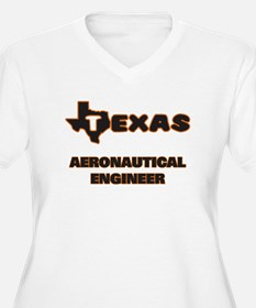 Texas Aeronautical Engineer Plus Size T-Shirt