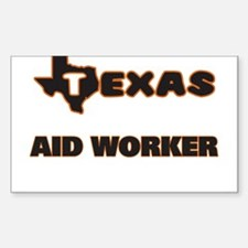 Texas Aid Worker Decal