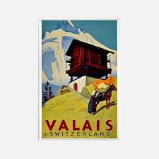 Valais Switzerland Magnets