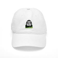 NO SPIN ZONE Baseball Baseball Cap