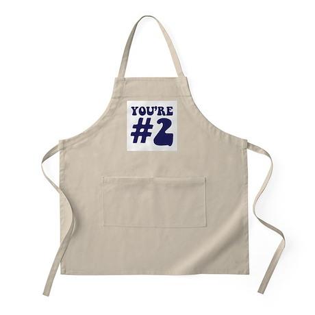 You're #2 BBQ Apron