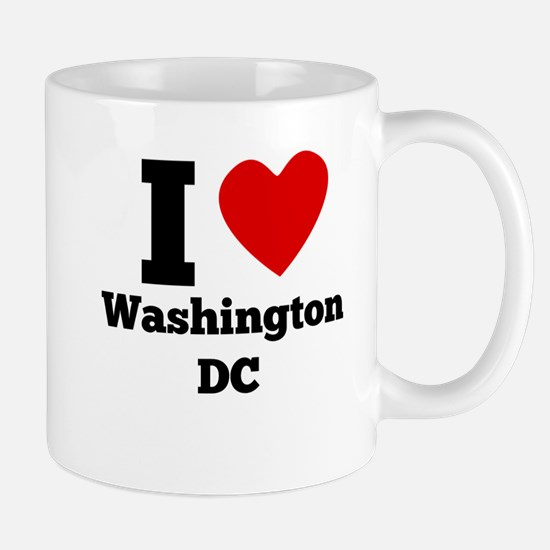 I Heart Washington DC Mugs
