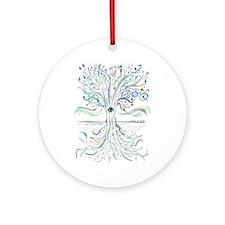 Tree of Life 2 Ornament (Round)