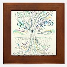 Tree of Life 2 Framed Tile