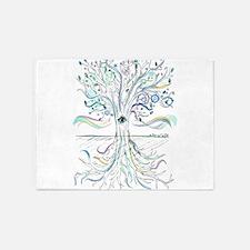Tree of Life 2 5'x7'Area Rug