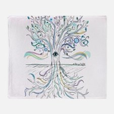 Tree of Life 2 Throw Blanket