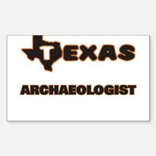 Texas Archaeologist Decal