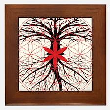Tree of Life / Flower of Life Framed Tile