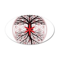 Tree of Life / Flower of Life Wall Decal