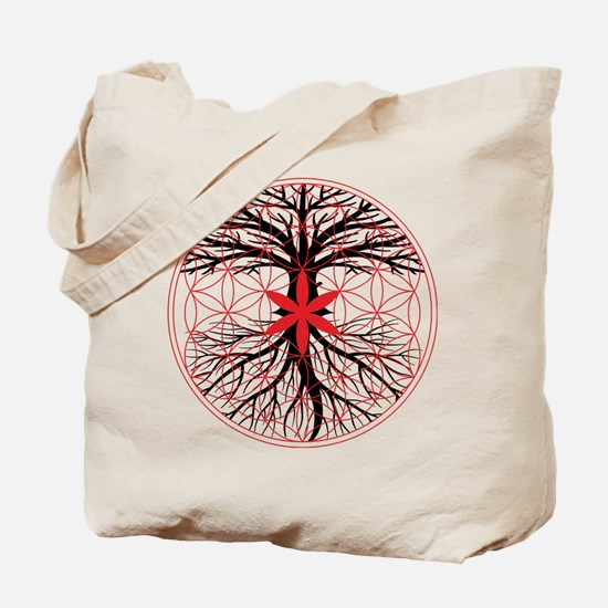 Tree of Life / Flower of Life Tote Bag