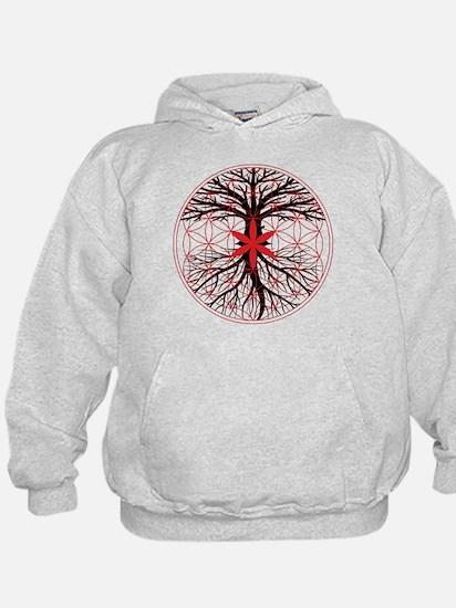 Tree of Life / Flower of Life Hoodie