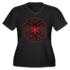 Tree of Life / Flower of Life Plus Size T-Shirt