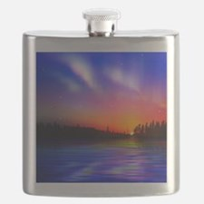 Sunrise Over The Water Flask