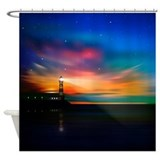 Lighthouse Shower Curtains