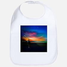 Sunrise Over The Sea And Lighthouse Bib