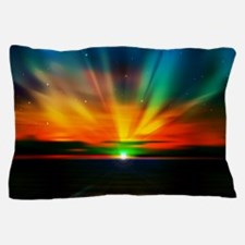 Sunset Over The Water Pillow Case