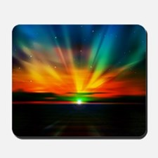 Sunset Over The Water Mousepad