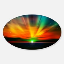 Sunset Over The Water Decal
